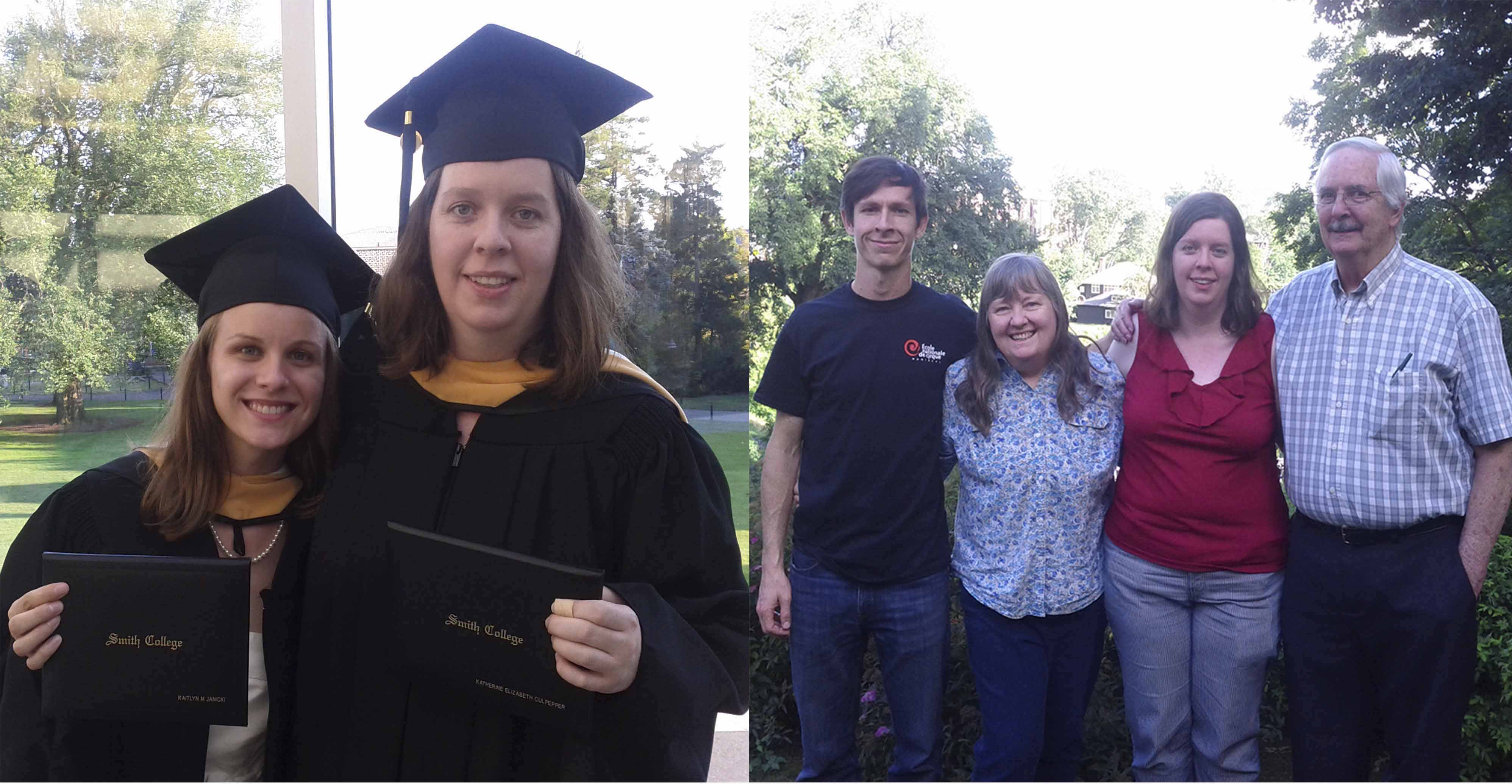 Katie's MSW Smith Graduation 15 August 2015 collage 300dpi