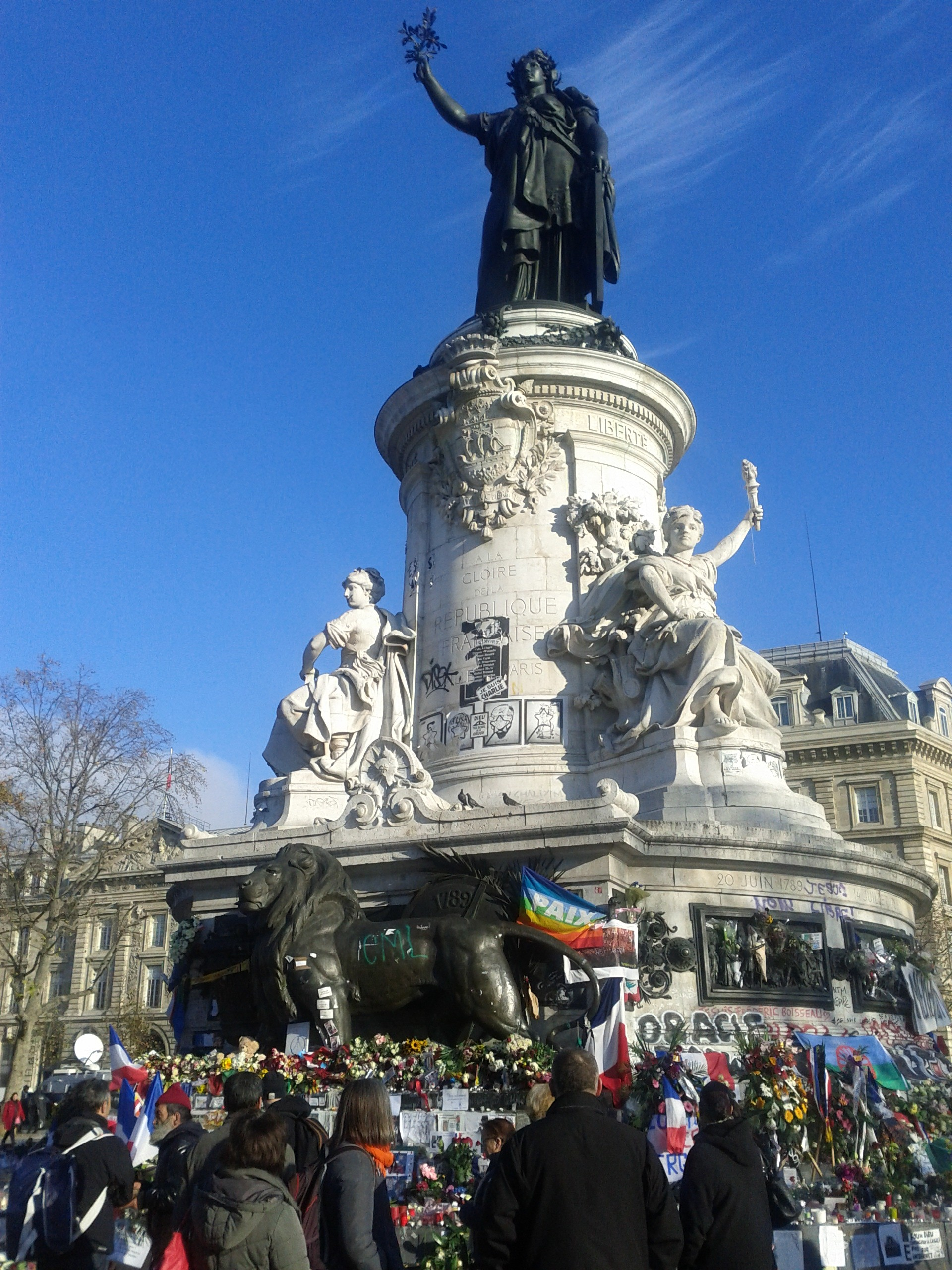 Place de la république 23 november 2015