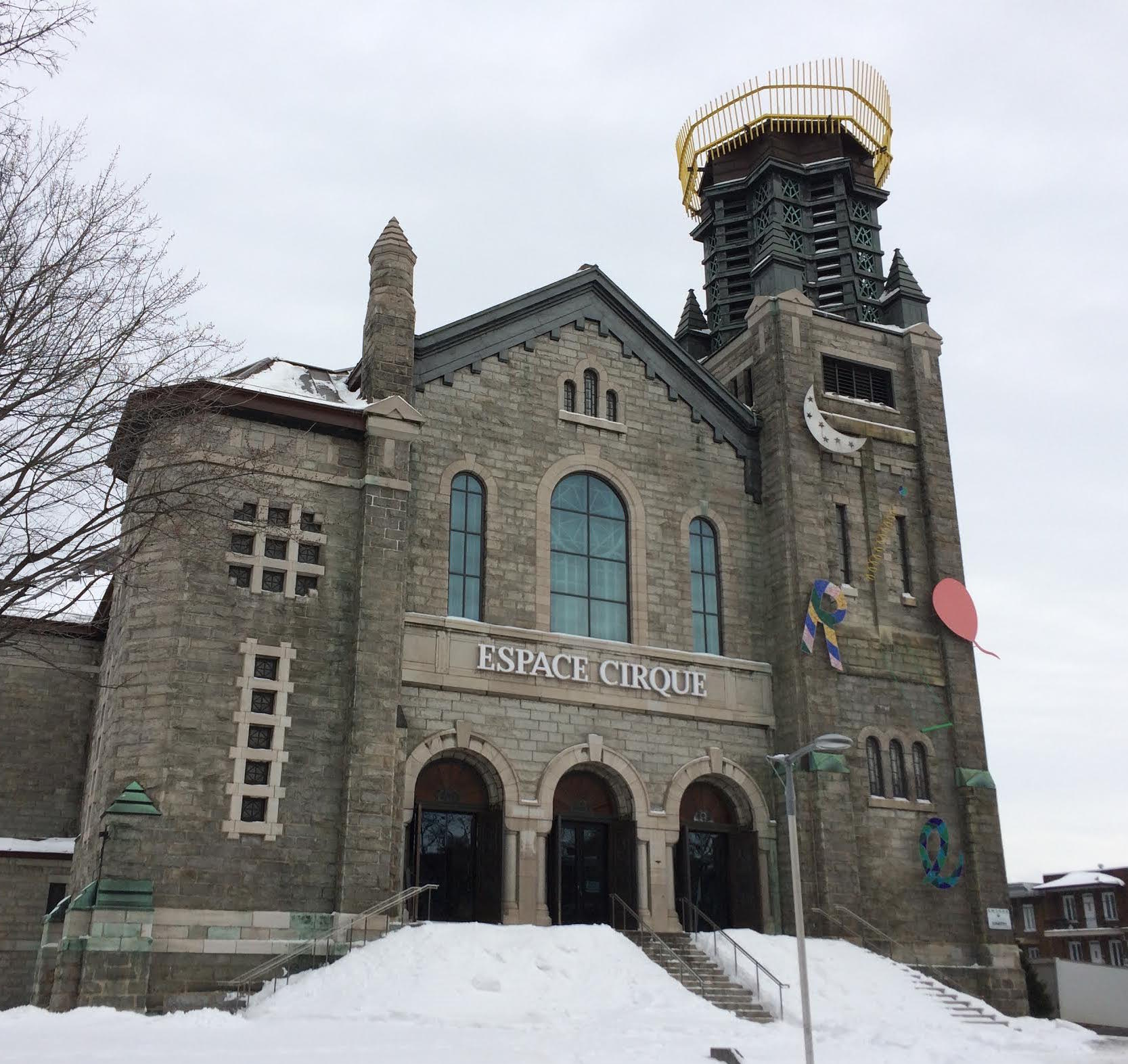 Ecole de Cirque de Quebec day 9 jan 2016