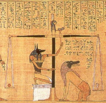 Egyptian Book of the Dead Scales